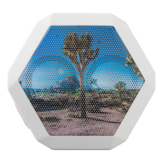 Joshua Tree National Park California White Bluetooth Speaker