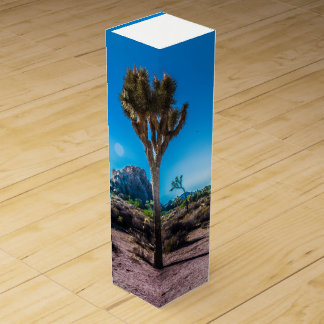 Joshua Tree National Park California Wine Gift Box