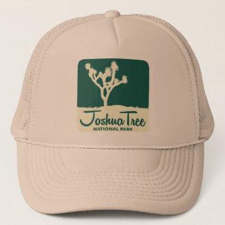 Joshua Tree National Park - Green Trucker Hat