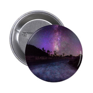Joshua tree National Park milky way 2 Inch Round Button