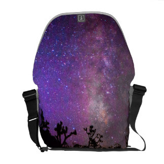 Joshua tree National Park milky way Courier Bag