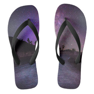 Joshua tree National Park milky way Flip Flops
