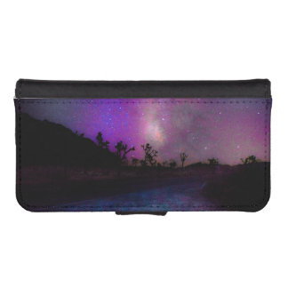 Joshua tree National Park milky way iPhone SE/5/5s Wallet Case