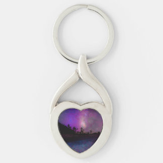 Joshua tree National Park milky way Keychain