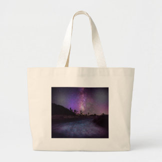 Joshua tree National Park milky way Large Tote Bag