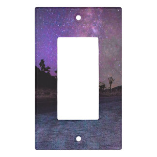 Joshua tree National Park milky way Light Switch Cover