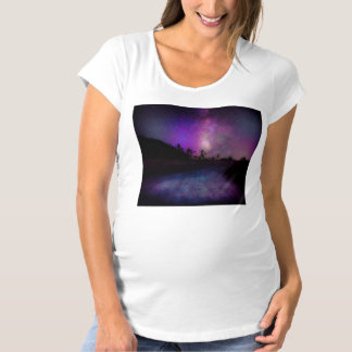 Joshua tree National Park milky way Maternity T-Shirt