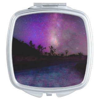 Joshua tree National Park milky way Mirror For Makeup
