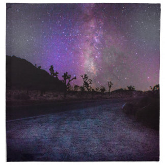 Joshua tree National Park milky way Napkin
