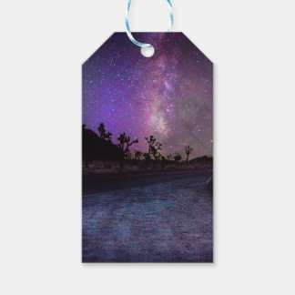 Joshua tree National Park milky way Pack Of Gift Tags
