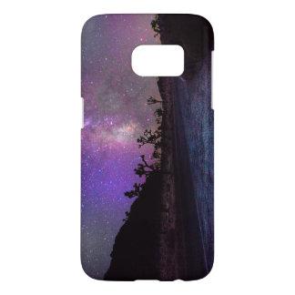 Joshua tree National Park milky way Samsung Galaxy S7 Case