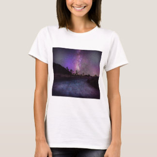 Joshua tree National Park milky way T-Shirt