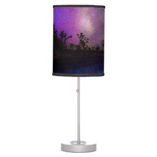 Joshua tree National Park milky way Table Lamp