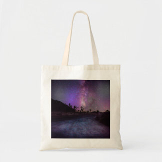 Joshua tree National Park milky way Tote Bag