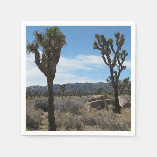 Joshua Tree National Park Paper Napkins
