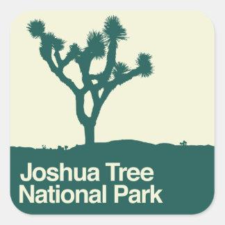 Joshua Tree National Park Square Sticker