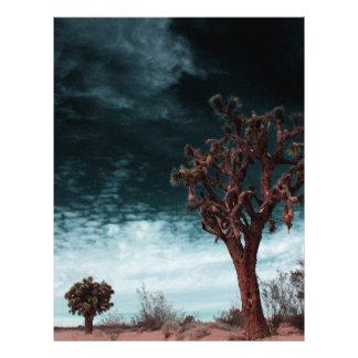Joshua Tree Special Customized Letterhead