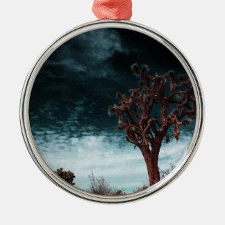 Joshua Tree Special Silver-Colored Round Ornament