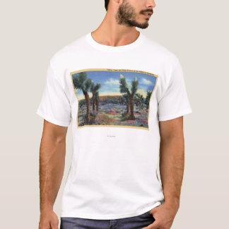 Joshua Trees and Desert Wild Flowers View T-Shirt