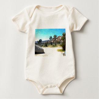 Joshua Trees and Rocks Baby Bodysuit