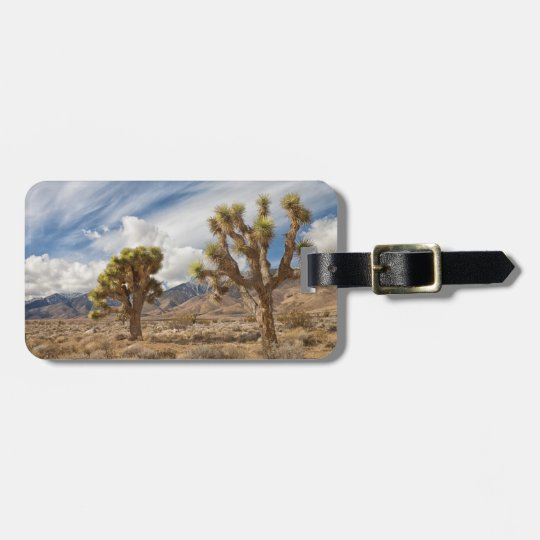 Joshua Trees in Desert Bag Tag
