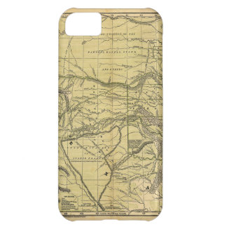 Josiah Gregg's 1844 Map of the Indian Territory iPhone 5C Cover