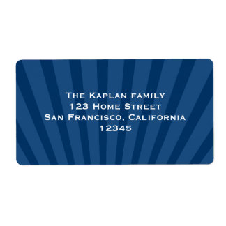 Josiah Return Address Label