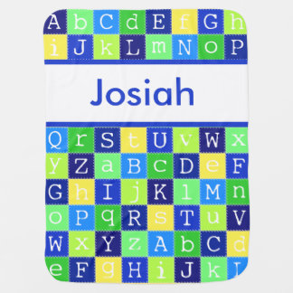 Josiah's Personalized Blanket
