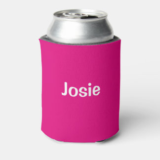 Josie (Name) Cranberry Can Cooler