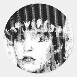 Josie Soho Round Sticker