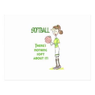 Joueur de base-ball carte postale