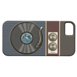 Joueur vintage drôle de disque vinyle