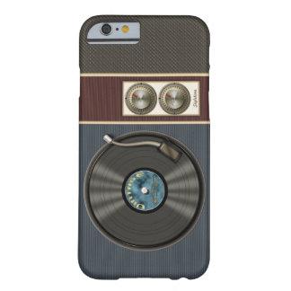 Joueur vintage drôle de disque vinyle coque iPhone 6 barely there