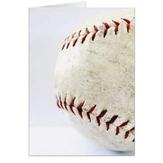 Joueurs de base-ball carte de vœux