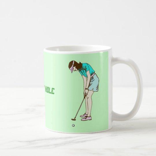 Jouez au golf la 19ème tasse de trou