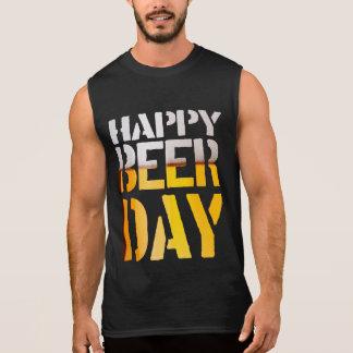 Jour 2015 heureux de bière de st patrick à vous tee-shirt sans manches