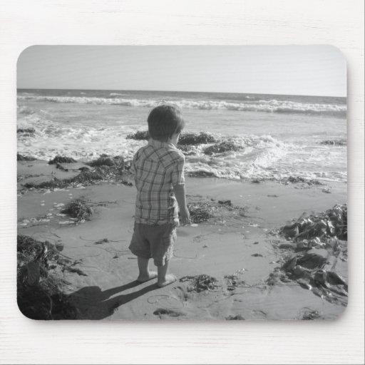 Jour à la plage tapis de souris
