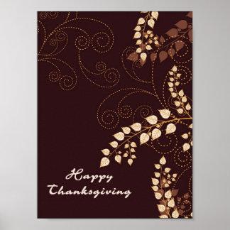 Jour de bon thanksgiving poster