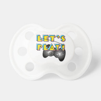 Jour de jeux vidéo - jouons ! sucettes pour bébé