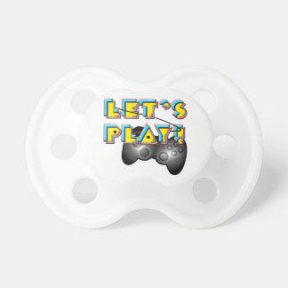 Jour de jeux vidéo - jouons ! tétines