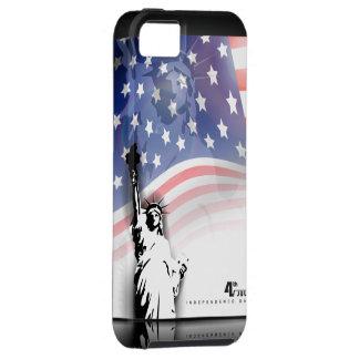 Jour de la Déclaration d'Indépendance cas du 4 jui iPhone 5 Case