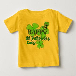 Jour de la Saint Patrick heureux T-shirt Pour Bébé