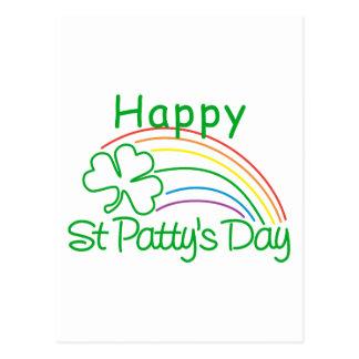 Jour de la St Patrick heureux