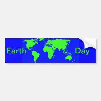 Jour de la terre autocollants pour voiture