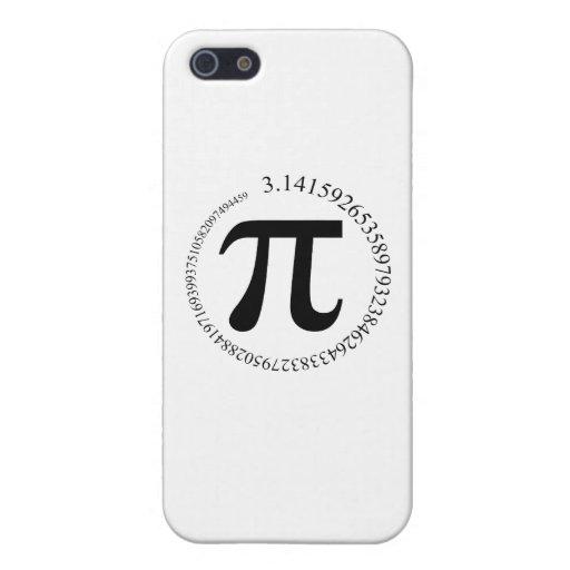Jour de pi (π) coques iPhone 5