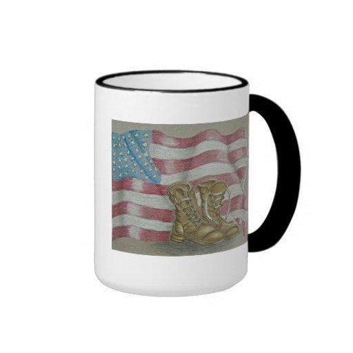 Jour des anciens combattants mug à café