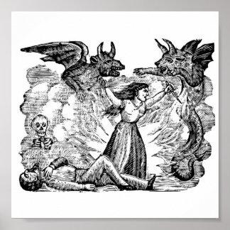 Jour des morts, Mexique circa les lates 1800's Poster