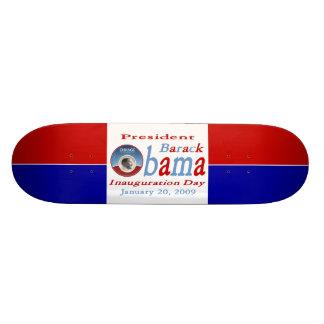 Jour d'inauguration d'Obama Plateaux De Skate