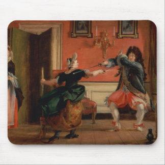 Jourdain Fences his Maid Mouse Pad