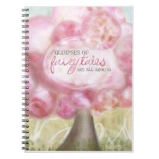 "Journal - ""Glimpses of Fairytales"" Spiral Notebooks"